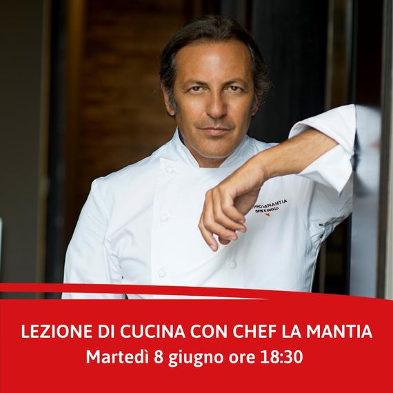 Lezione di cucina con Chef La Mantia